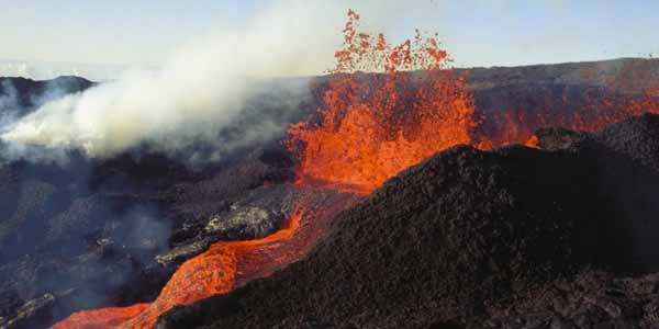 An overview of the shield volcano kilauea