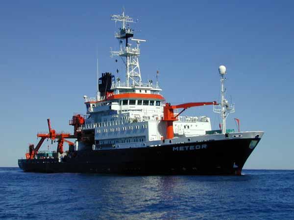 Исследовательское судно Метеор.