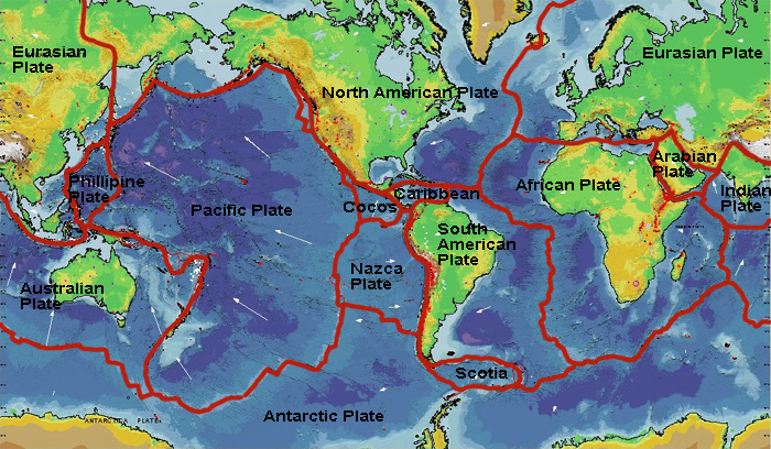 Earth s plate tectonics for 10 facts about sea floor spreading